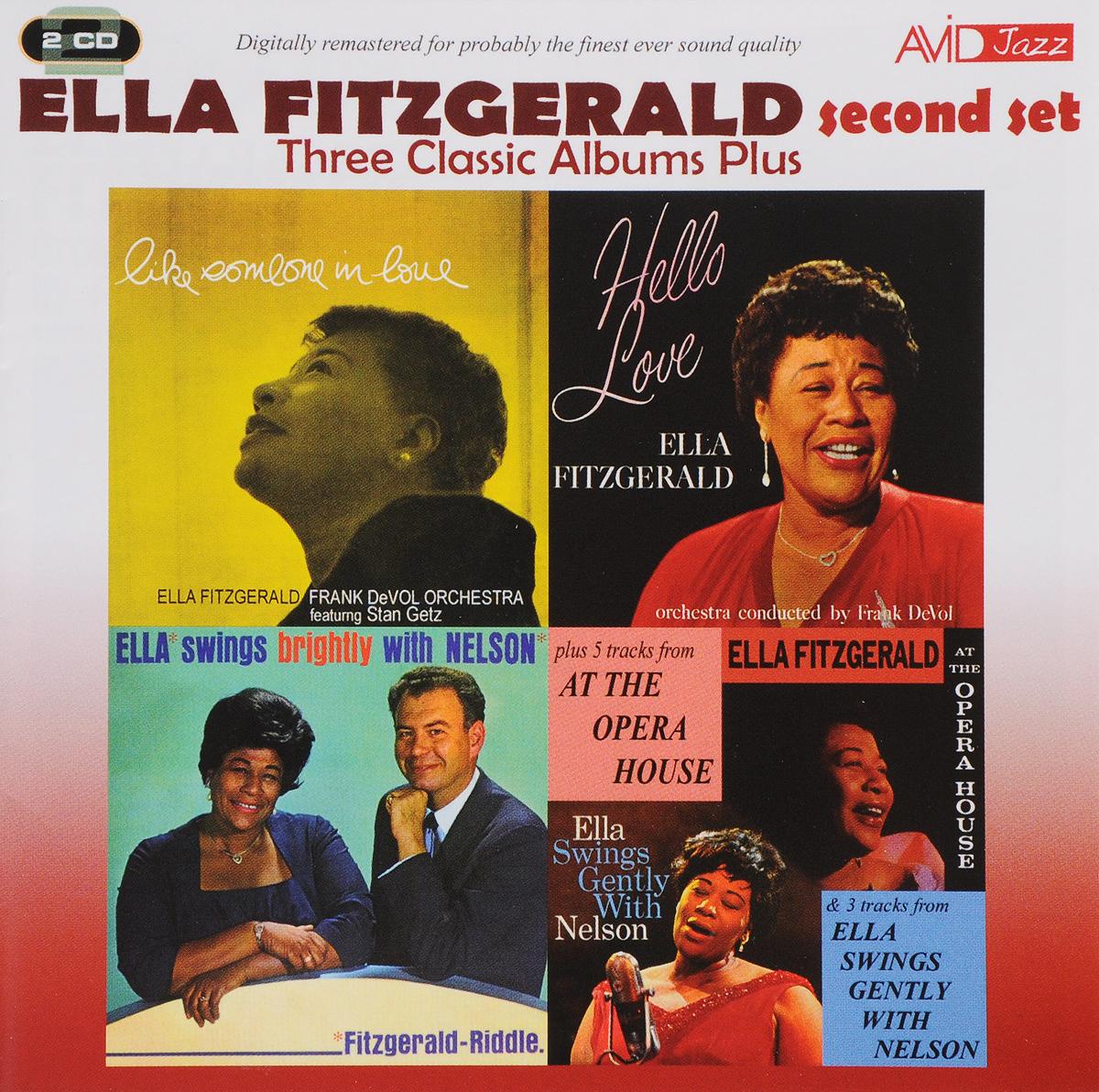 цена Элла Фитцжеральд Ella Fitzgerald. Three Classic Albums Plus (Second set) (2 CD) в интернет-магазинах
