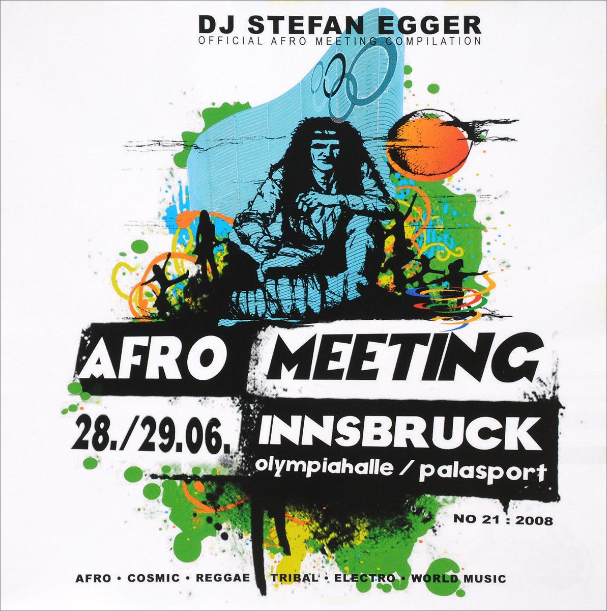 лучшая цена Stefan Egger / DJ Stefan Egger Dj Stefan Egger. Afro Meeting Nr. 21/2008