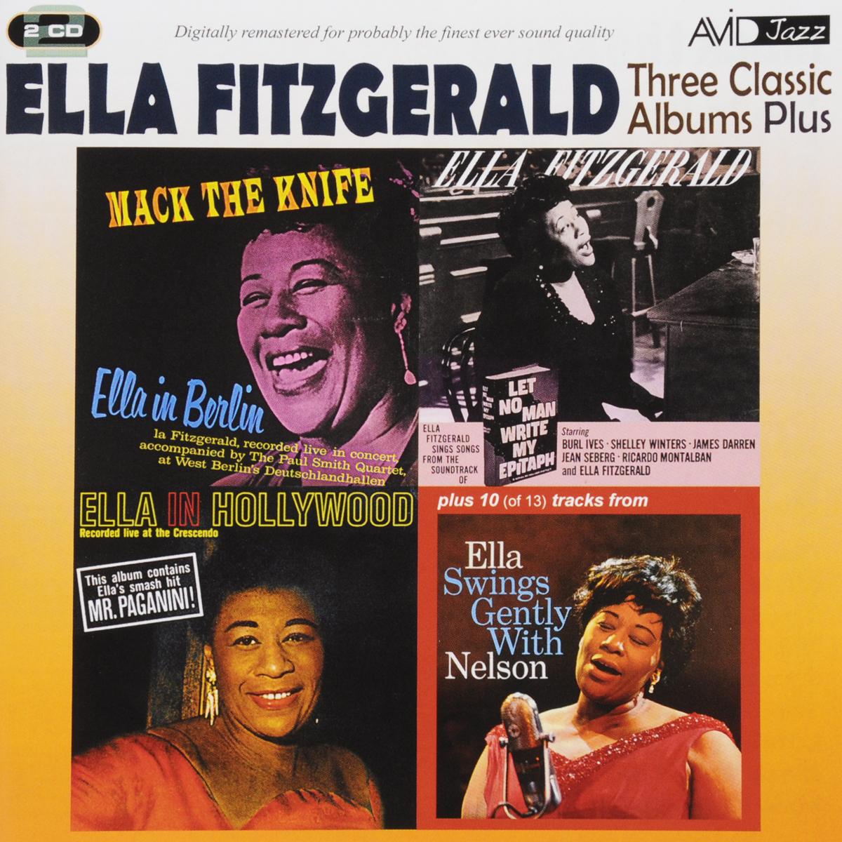 цена Элла Фитцжеральд Ella Fitzgerald. Three Classic Albums Plus (2 CD) в интернет-магазинах