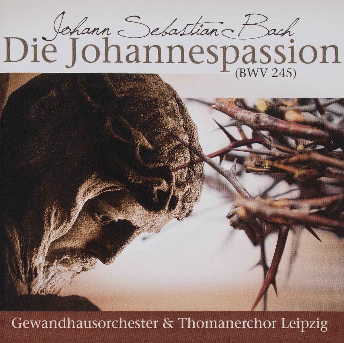 J.S. Bach. Die Johannes Passion (2 CD) николаус арнонкур курт экуилуз макс ван эгмонд жак виллисеч conсentus musicus wien das alte werk bach johannes passion bwv 245 2 cd