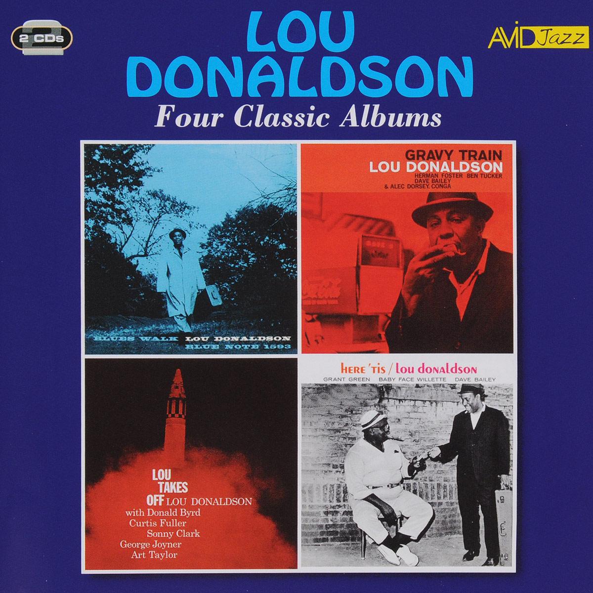 Лу Дональдсон Lou Donaldson. Four Classic Albums (2 CD) каунт бэйси count basie four classic albums plus 2 cd