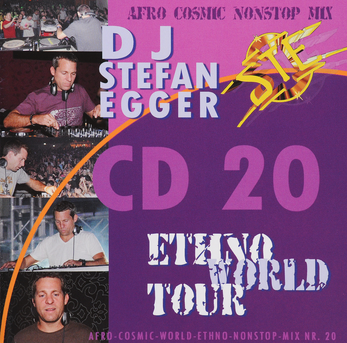 Stefan Egger / DJ Dj Egger. Ethno World Tour CD 20