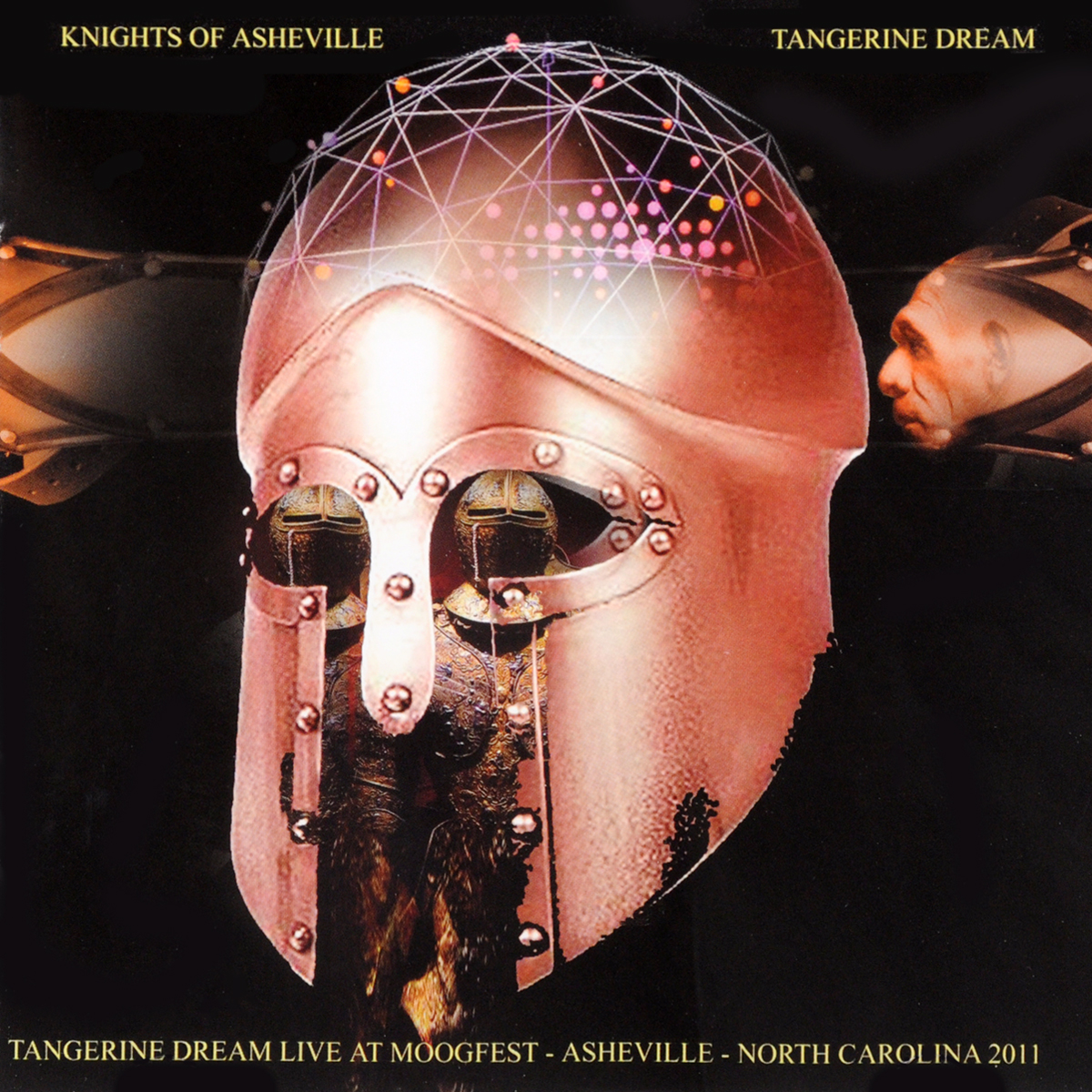 Tangerine Dream Tangerine Dream. Knights Of Asheville - Tangerine Dream Live At The Moogfest In Asheville 2011 (2 CD) dream evil dream evil the book of heavy metal lp cd
