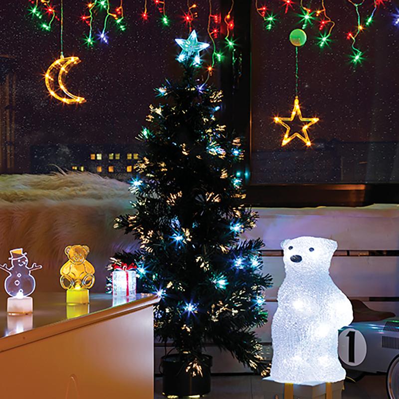 """Комплект Neon-Night """"Детская"""", для новогоднего украшения дома, 500-055, цвет гирлянд: белый"""