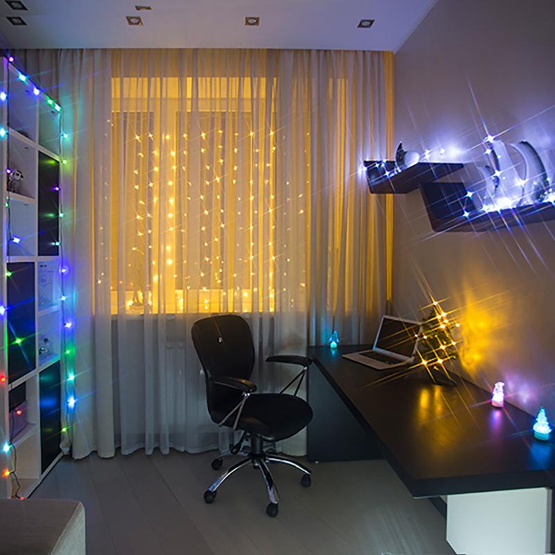 """Комплект Neon-Night """"Комната"""", для новогоднего украшения дома, цвет гирлянд: белый. 500-025"""