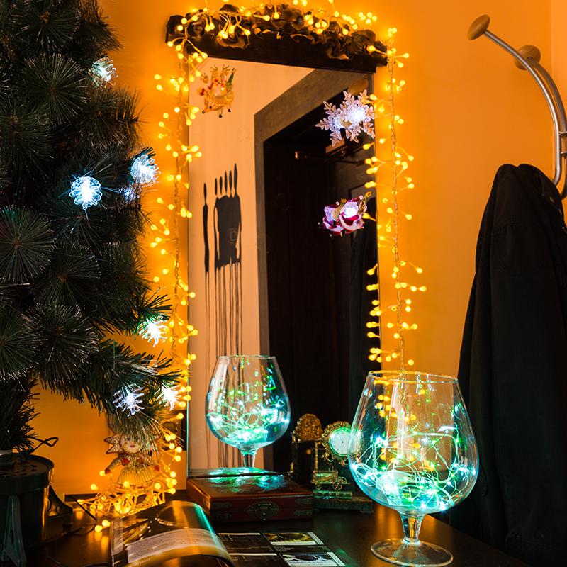 """Комплект Neon-Night """"Прихожая"""", для новогоднего украшения дома, 500-045, цвет гирлянд: белый"""
