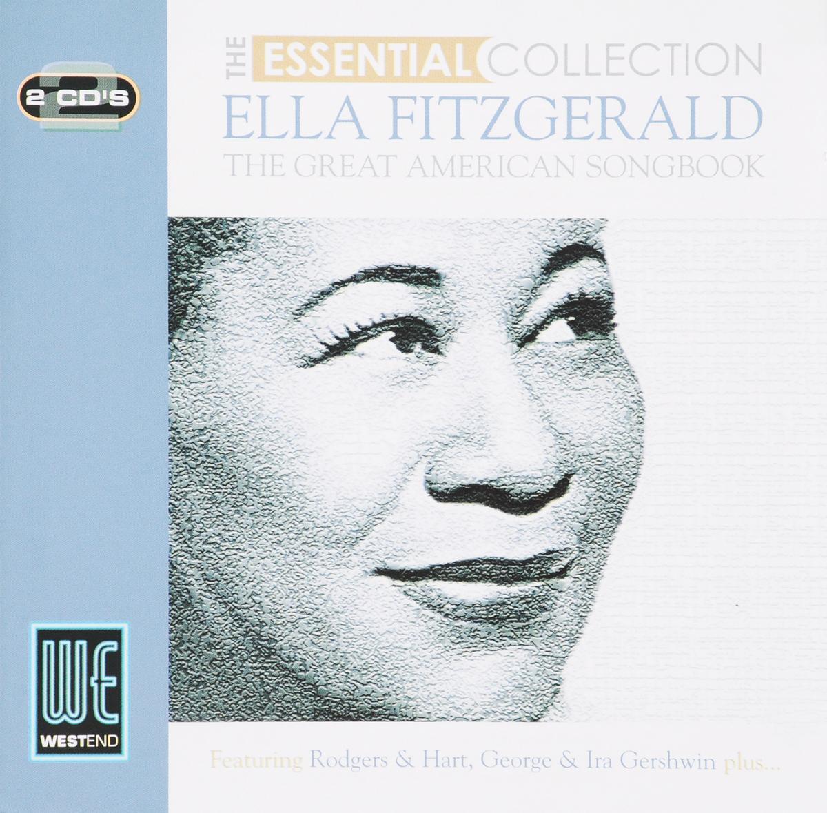 цена Элла Фитцжеральд Ella Fitzgerald. Great American Songbook the Essential Collection (2 CD) в интернет-магазинах