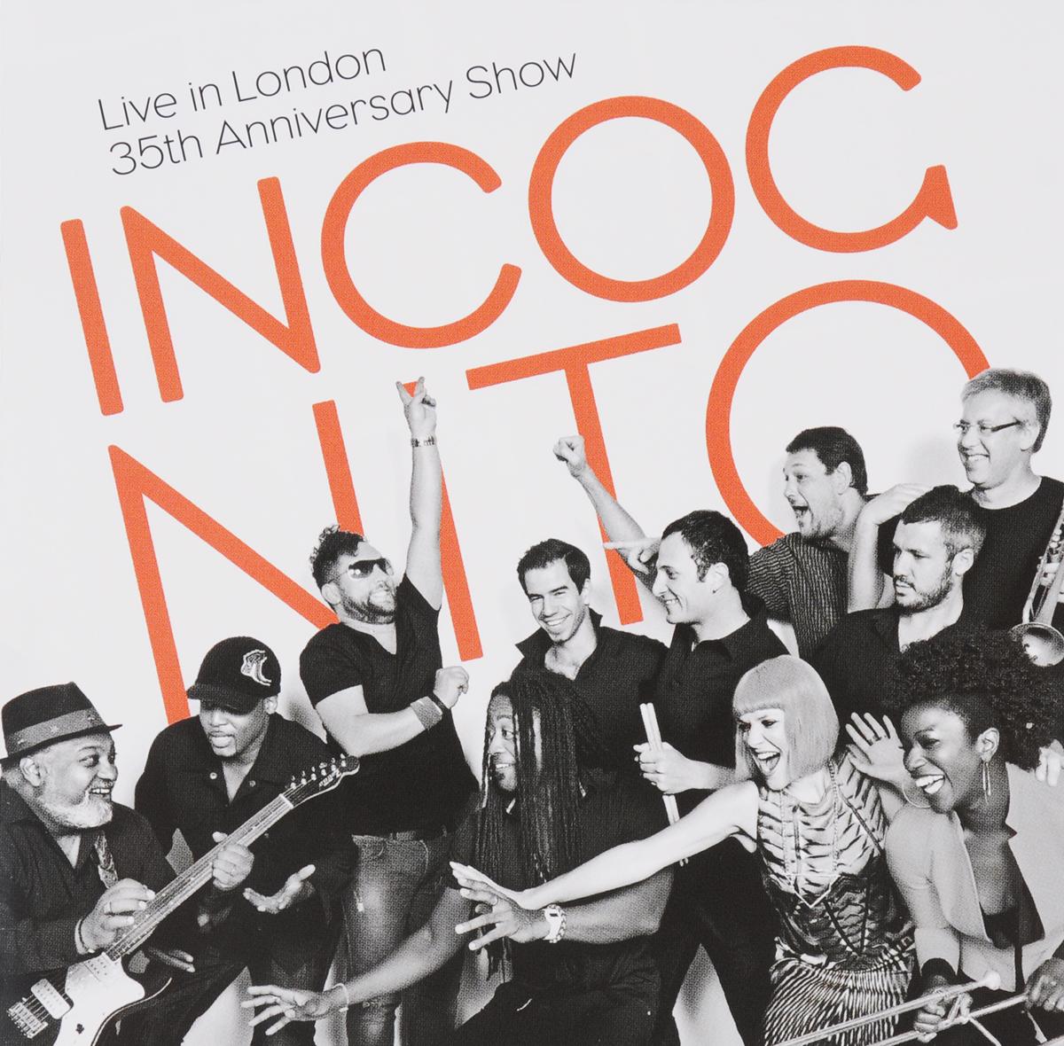 Incognito Incognito. Live In London 35th Anniversary Show (2 CD) incognito incognito tales from the beach