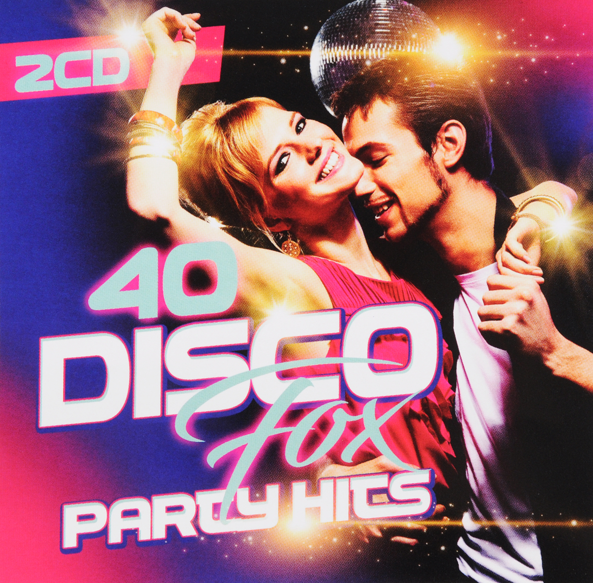 40 Disco Fox Party Hits (2 CD) public viewing party hits 2 cd