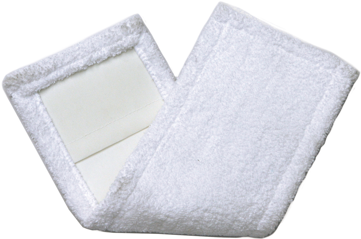 Насадка для швабры Лайма Моп, с карманами, цвет: белый, 40 х 10 см. 601476 цена