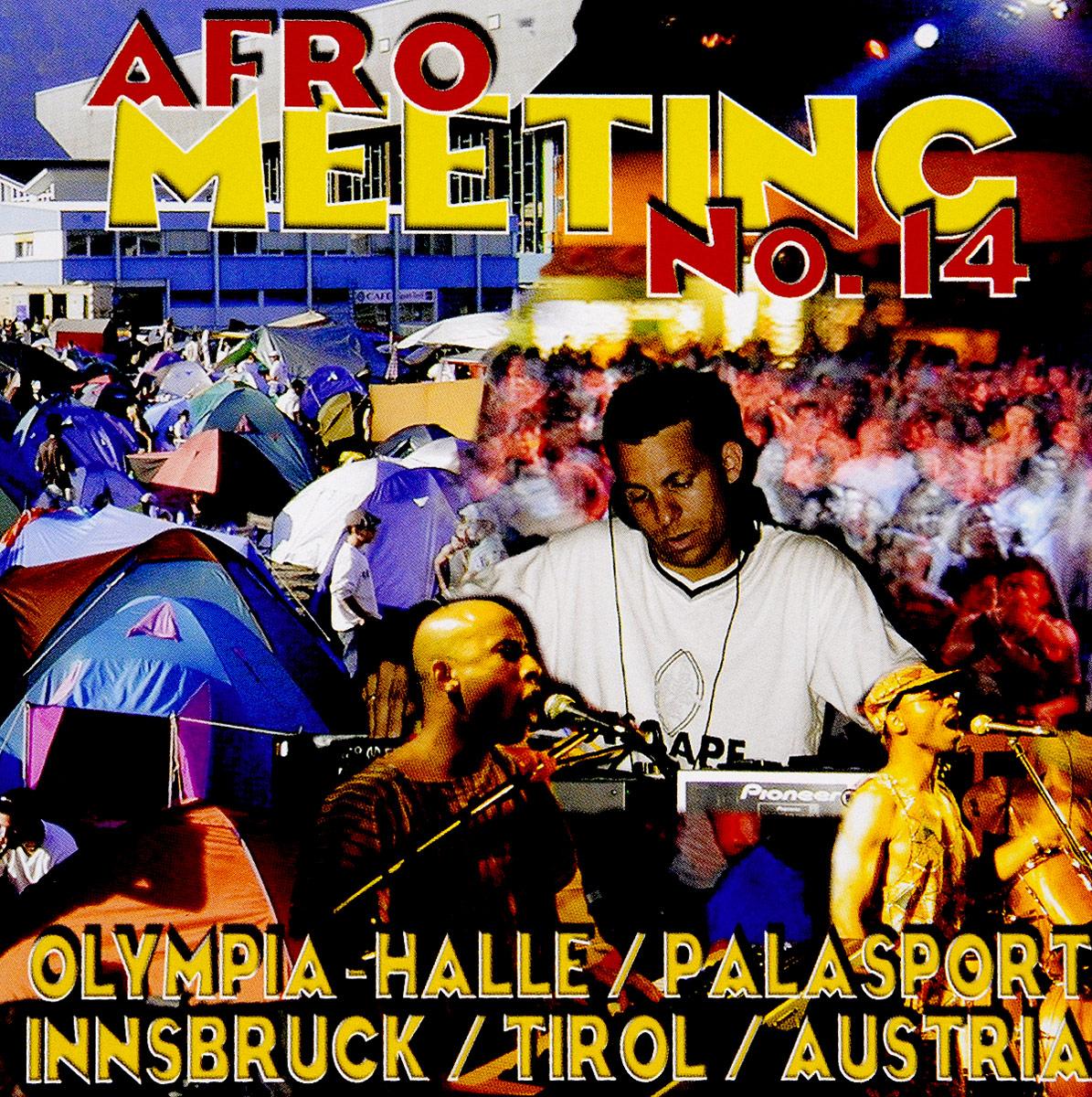 Stefan Egger / DJ Dj Egger. Afro Meeting Nr. 14/2001