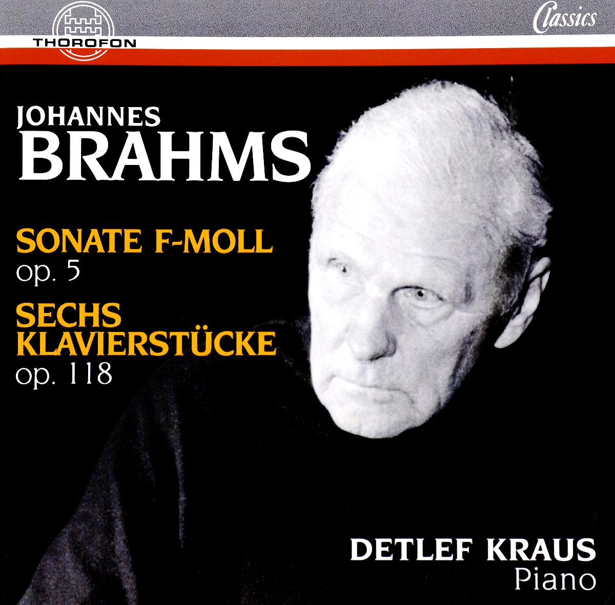 J. Brahms J. Brahms. Sonate & 6 Klavierstuecke j