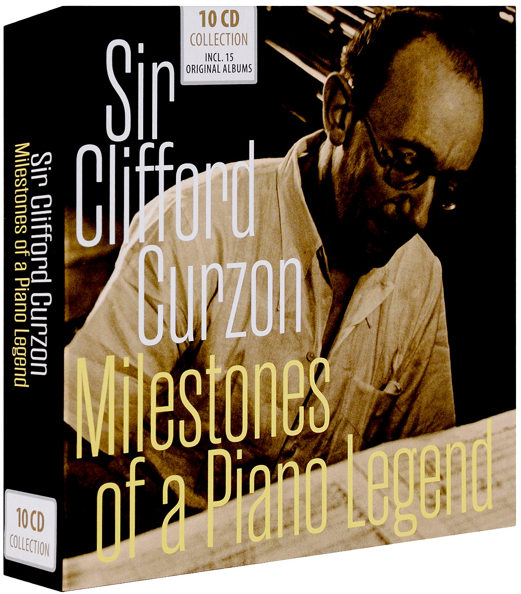 Sir Clifford Curzon. Milestones Of A Piano Legend (10 CD) clifford curzon schubert trout quintet 2 cd