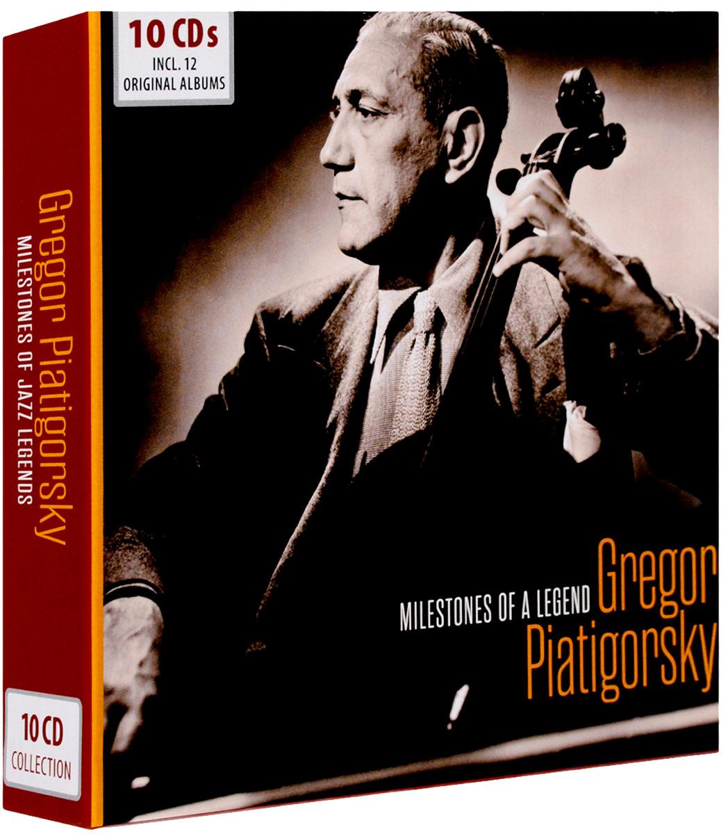 цены на Григорий Пятигорский Gregor Piatigorsky. Milestones Of A Legend (10 CD) в интернет-магазинах