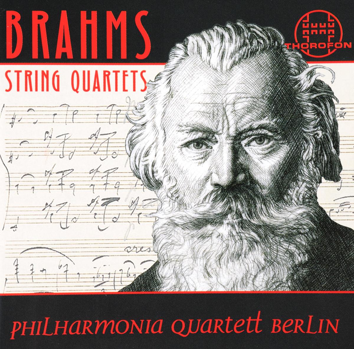 Johannes Brahms: Die String Quartets (2 CD) johannes brahms