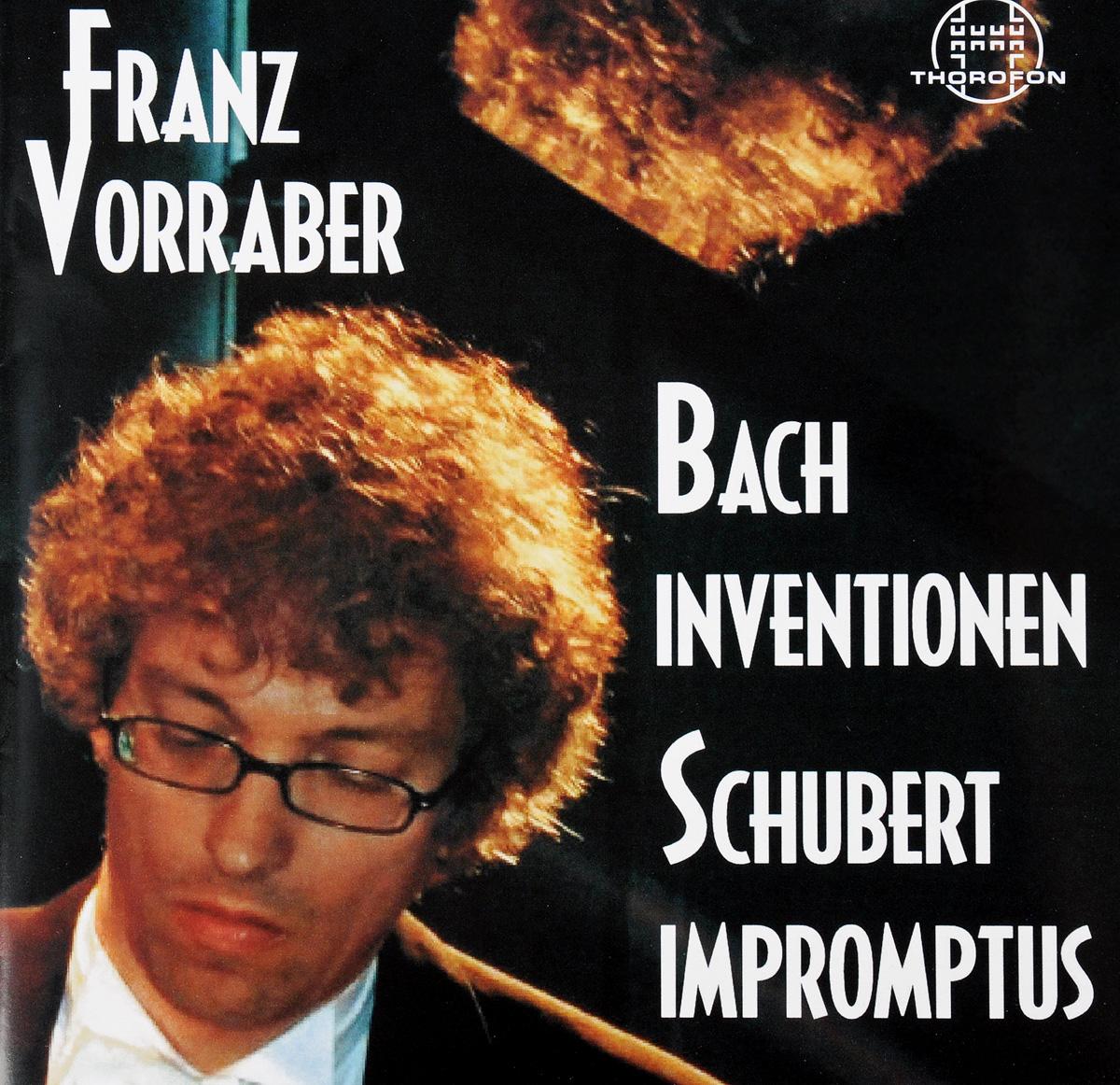 Johann Sebastian Bach. Inventionen & Schubert. Impromptus wilhelm kempff schubert impromptus d 899