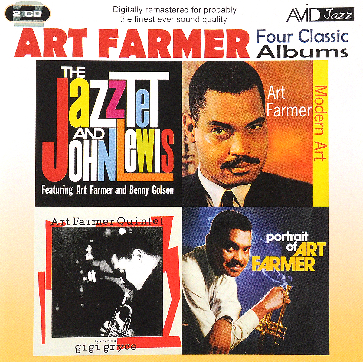 Art Farmer. Four Classic Albums (2 CD) каунт бэйси count basie four classic albums plus 2 cd