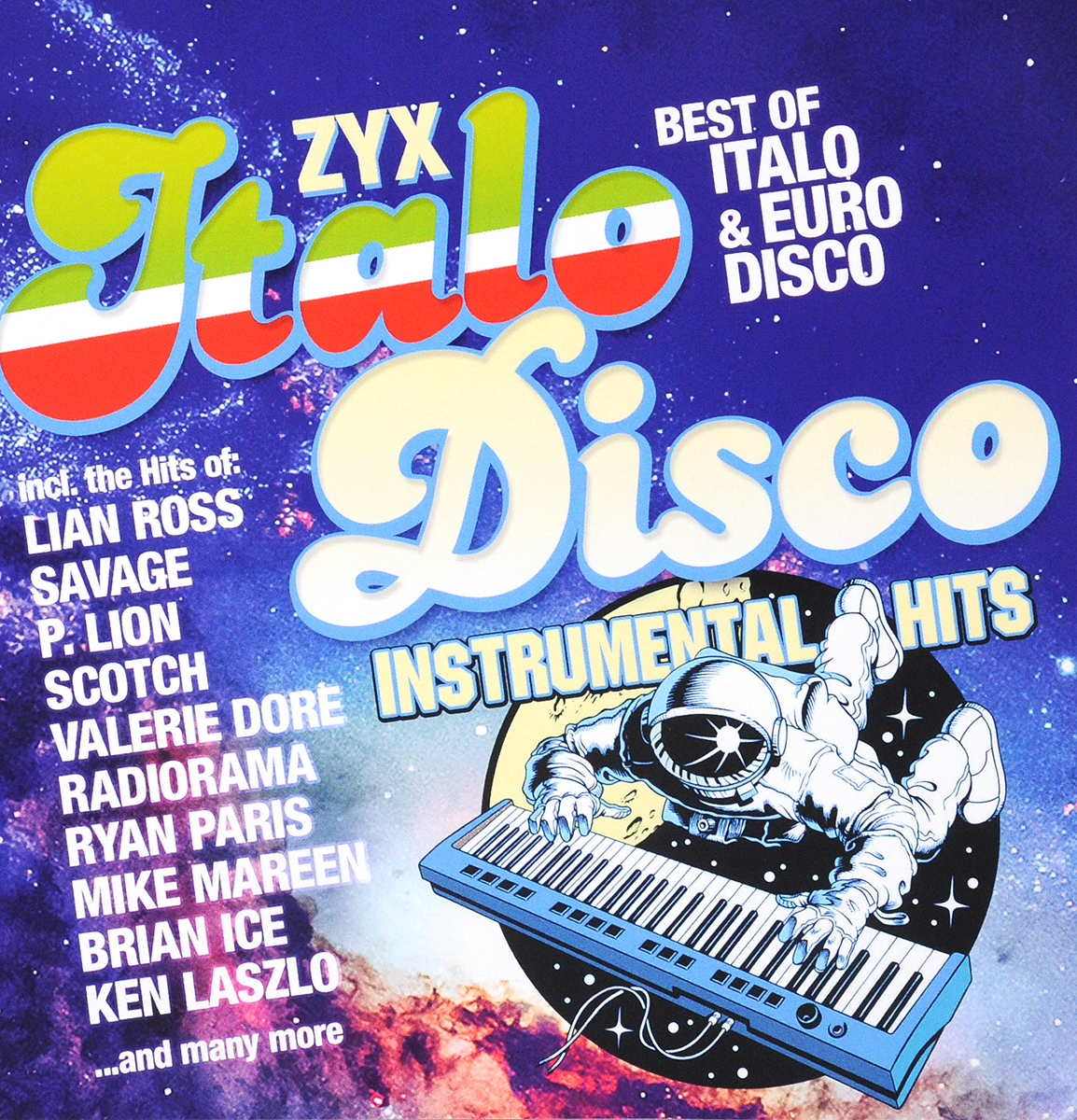 ZYX Italo Disco Instrumental Hits - Best of Italo & Euro Disco (2 CD) цена и фото
