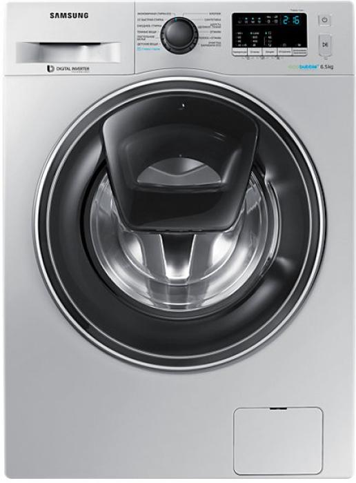 Стиральная машина Samsung, WW65K42E00S, Silver стиральная машина samsung ww65k42e09w с addwash 6 5 кг