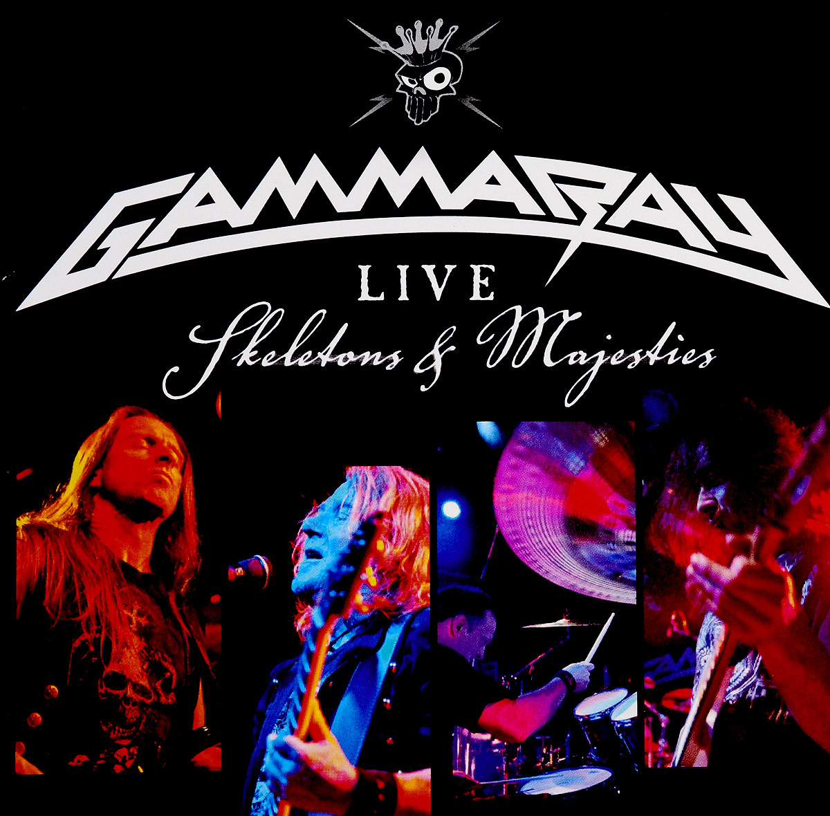 Gamma Ray Gamma Ray. Skeletons & Majesties Live (2 CD) gamma ray gamma ray the best of 4 lp