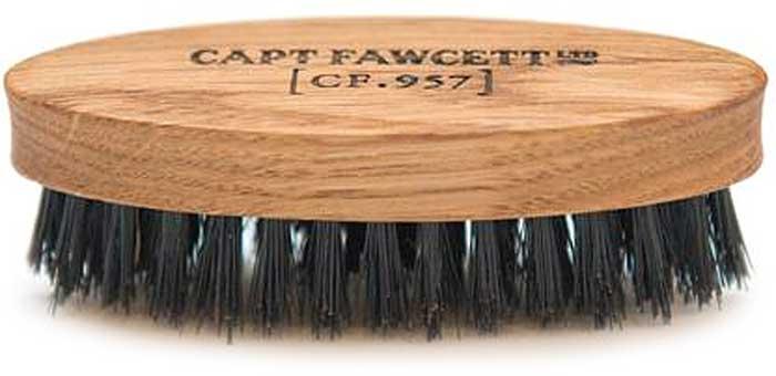 Captain Fawcett Щетка для усов Wild Boar Bristle Brush. CF355