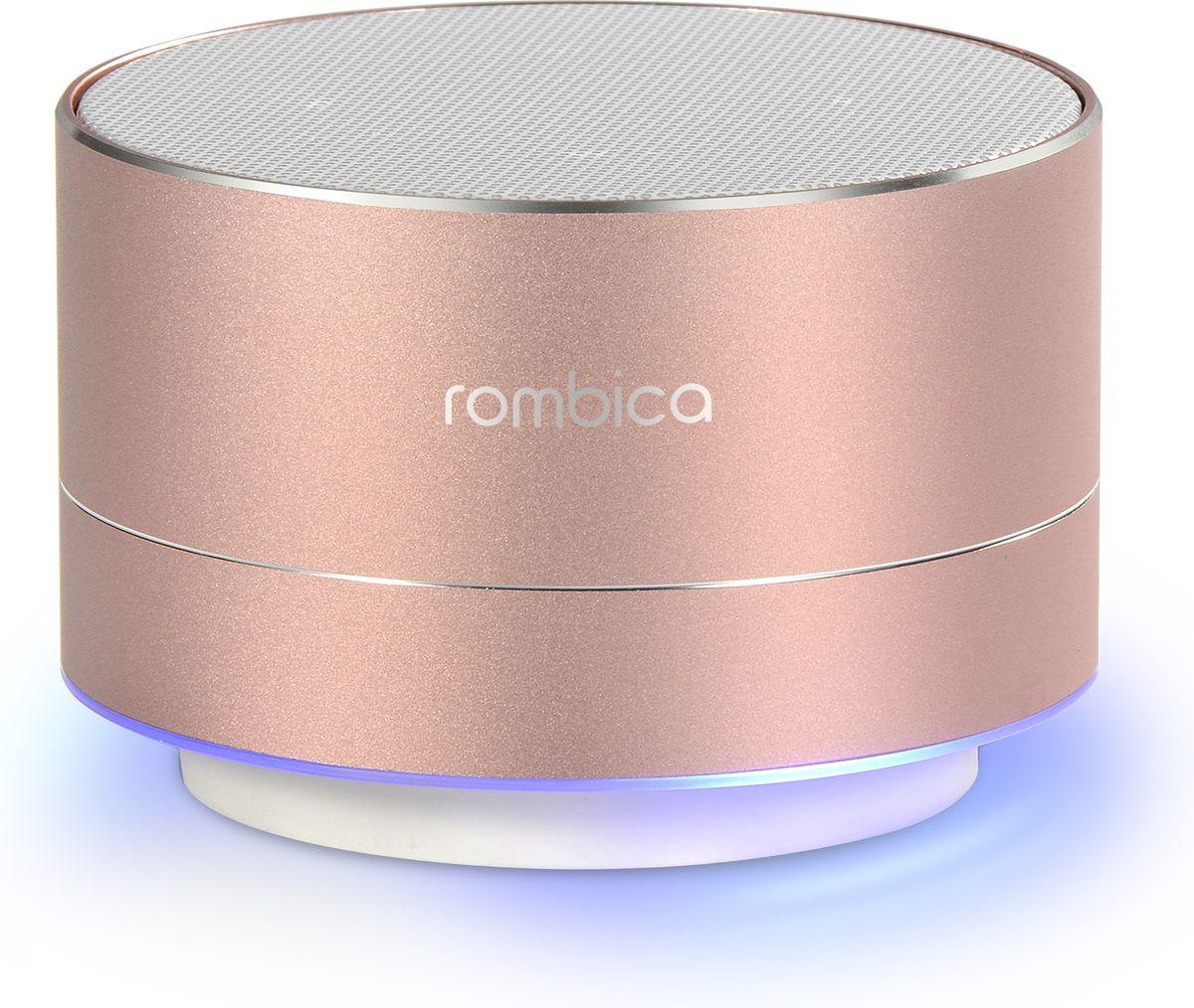 Беспроводная колонка Rombica MySound BT-03 3C, Pink rombica mysound bt 03 3c pink портативная акустическая система