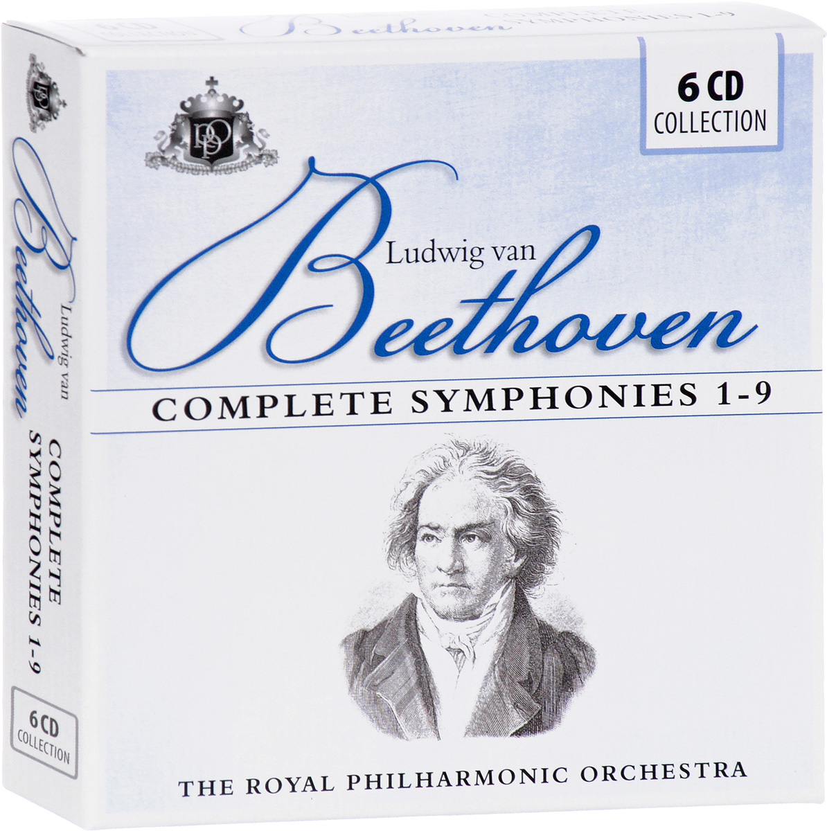 The Royal Philharmonic Orchestra. Beethoven: Complete Symphonies 1-9 (6 CD) саймон престон тревор пиннок the english concert orchestra simon preston trevor pinnock handel complete organ concertos 3 cd