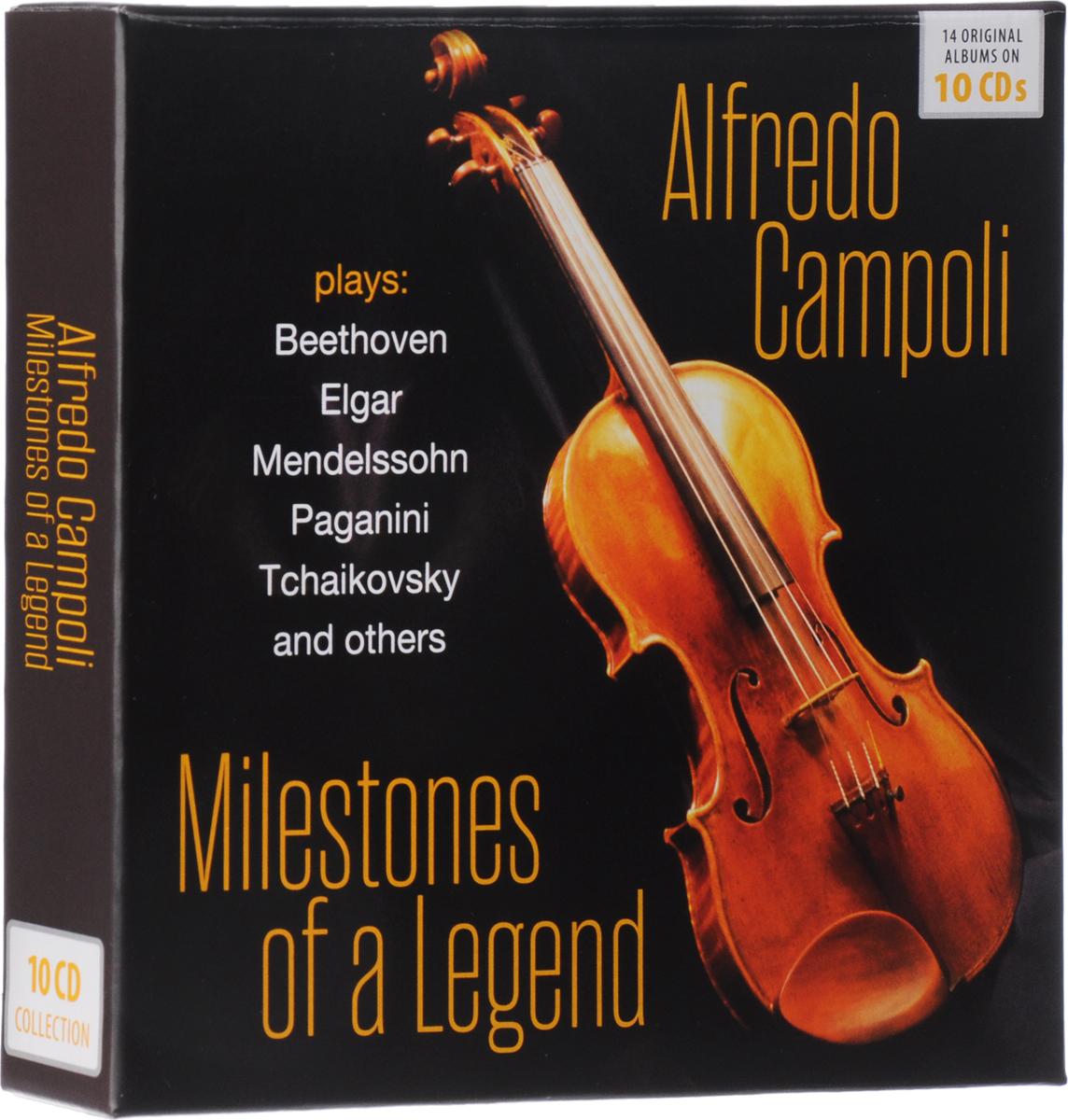Alfredo Campoli Alfredo Campoli. Milestones Of A Legend (10 CD) колье alfredo pauly