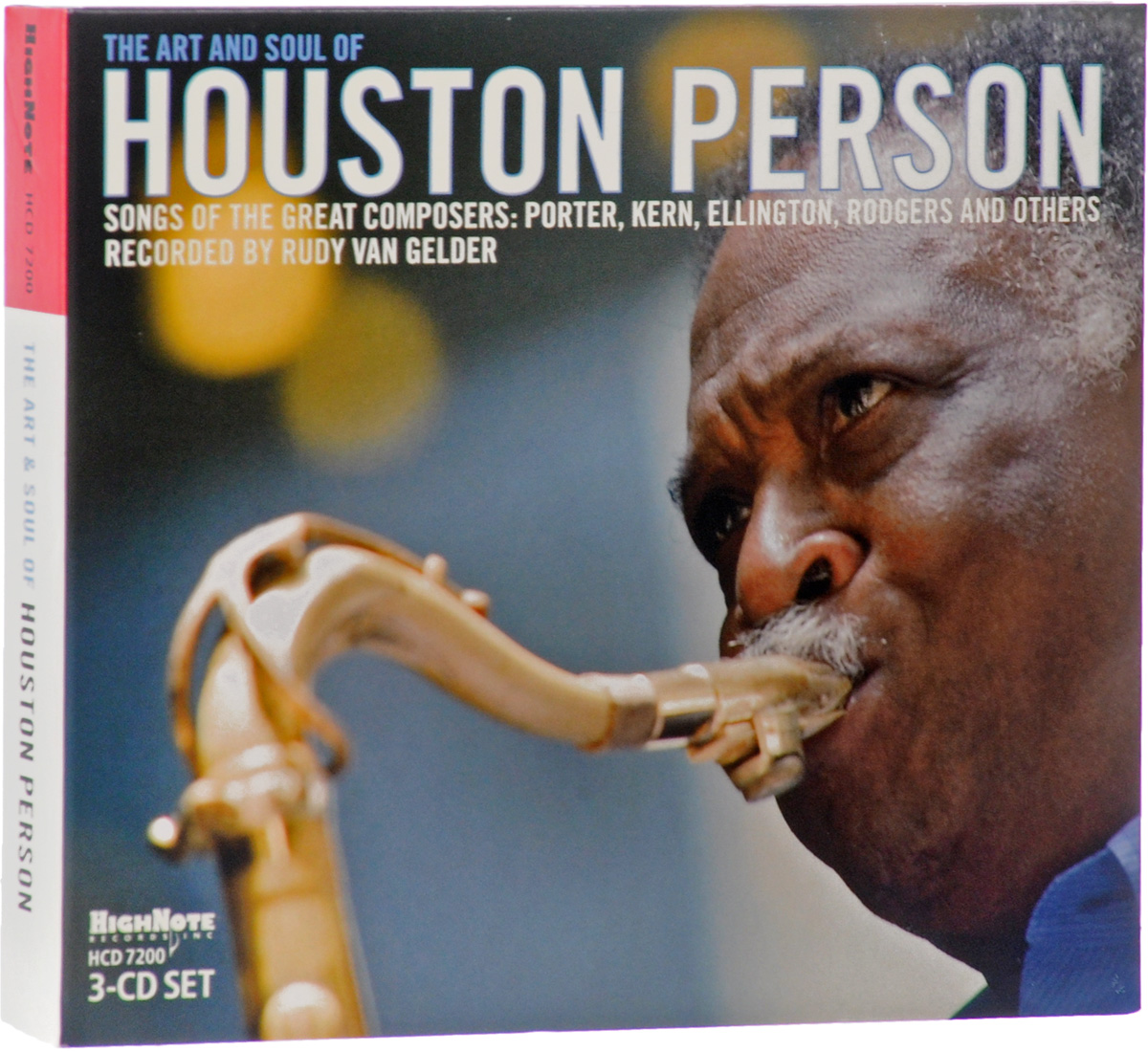 Хьюстон Персон Houston Person. Art & Soul Of Houston Person (3 CD) уитни хьюстон whitney houston live her greatest performances cd dvd