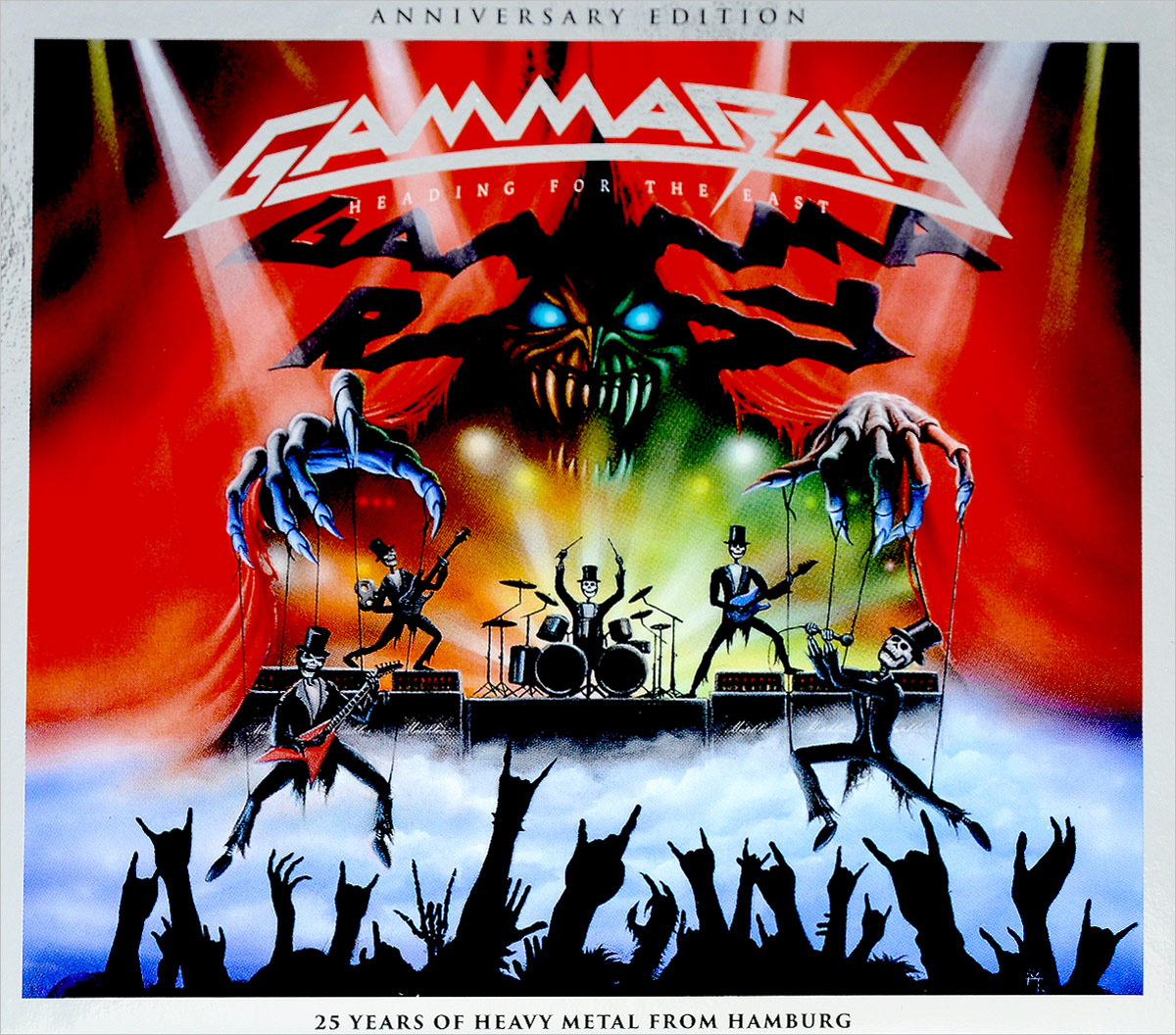 Gamma Ray Gamma Ray. Heading For The East (2 CD) gamma ray gamma ray the best of 4 lp
