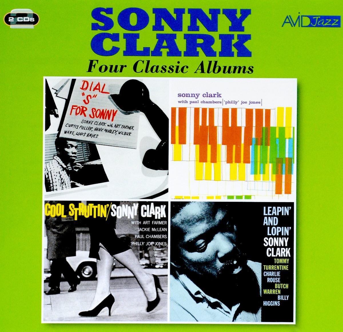 Сонни Кларк Sonny Clark. Four Classic Albums (2 CD) уинтон келли avid jazz wynton kelly four classic albums 2 cd