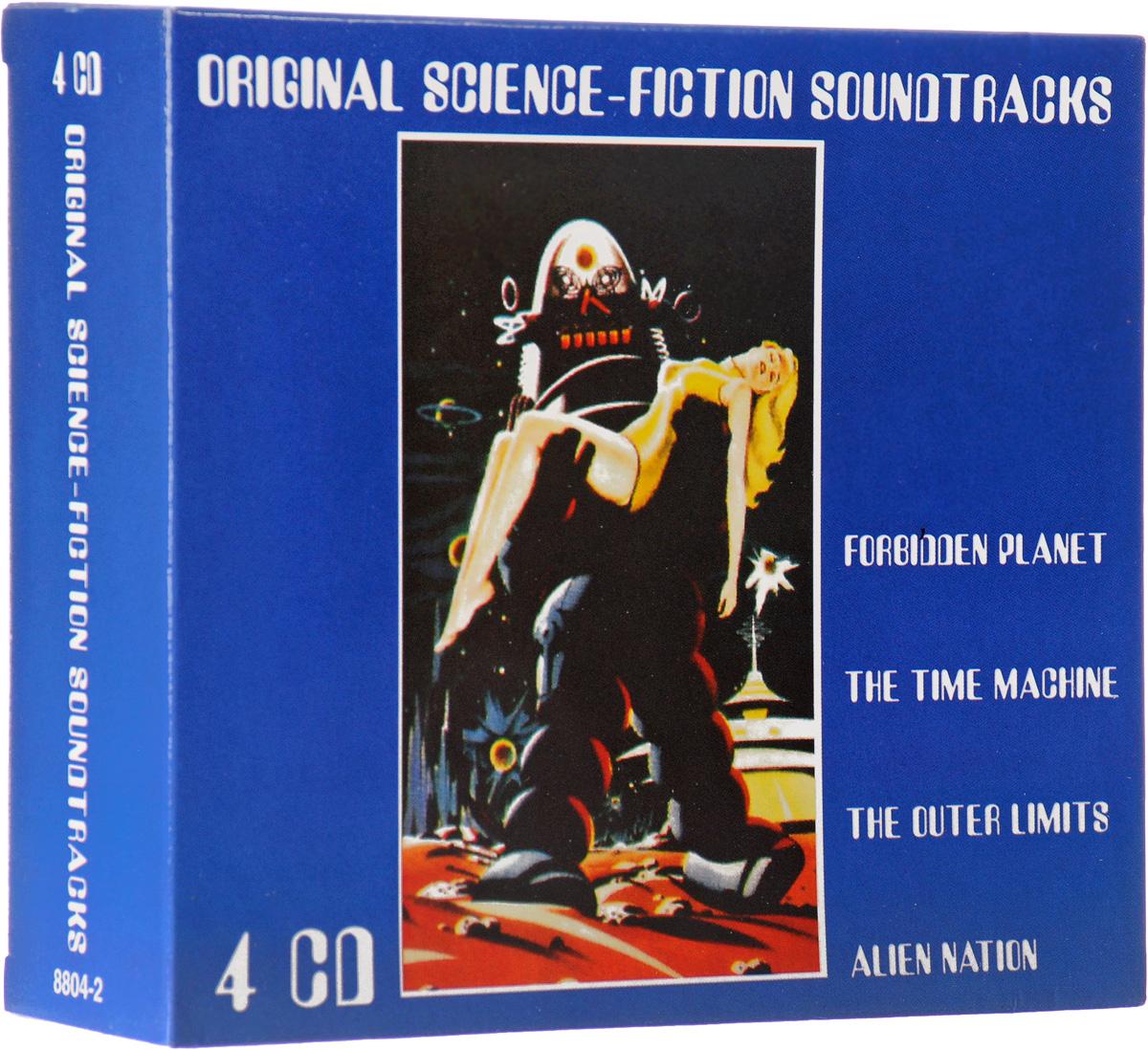 Original Science-Fiction Soundtracks (4 CD) 55 75kw inverter with transformer hall current sensor 4644x052 83