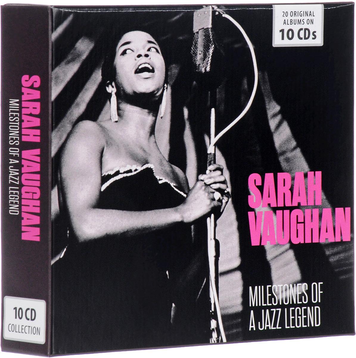 лучшая цена Сара Воэн Sarah Vaughan. Milestones Of A Jazz Legend (10 CD)