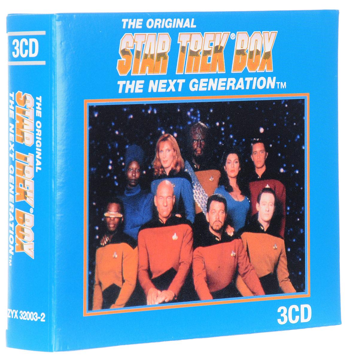Startrek. The Next Generation. Original Television Soundtrack (3 CD) white o generation next