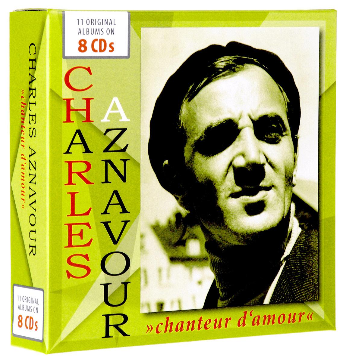 лучшая цена Шарль Азнавур Charles Aznavour. Chanteur D'amour (8 CD)