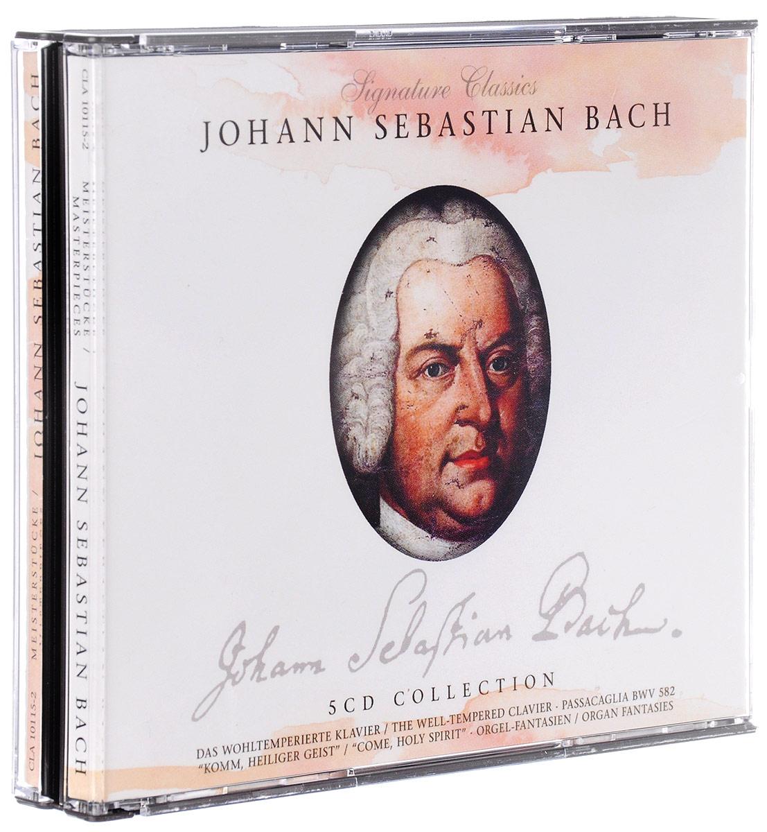 цена на Johann Sebastian Bach. Master Pieces (5 CD)
