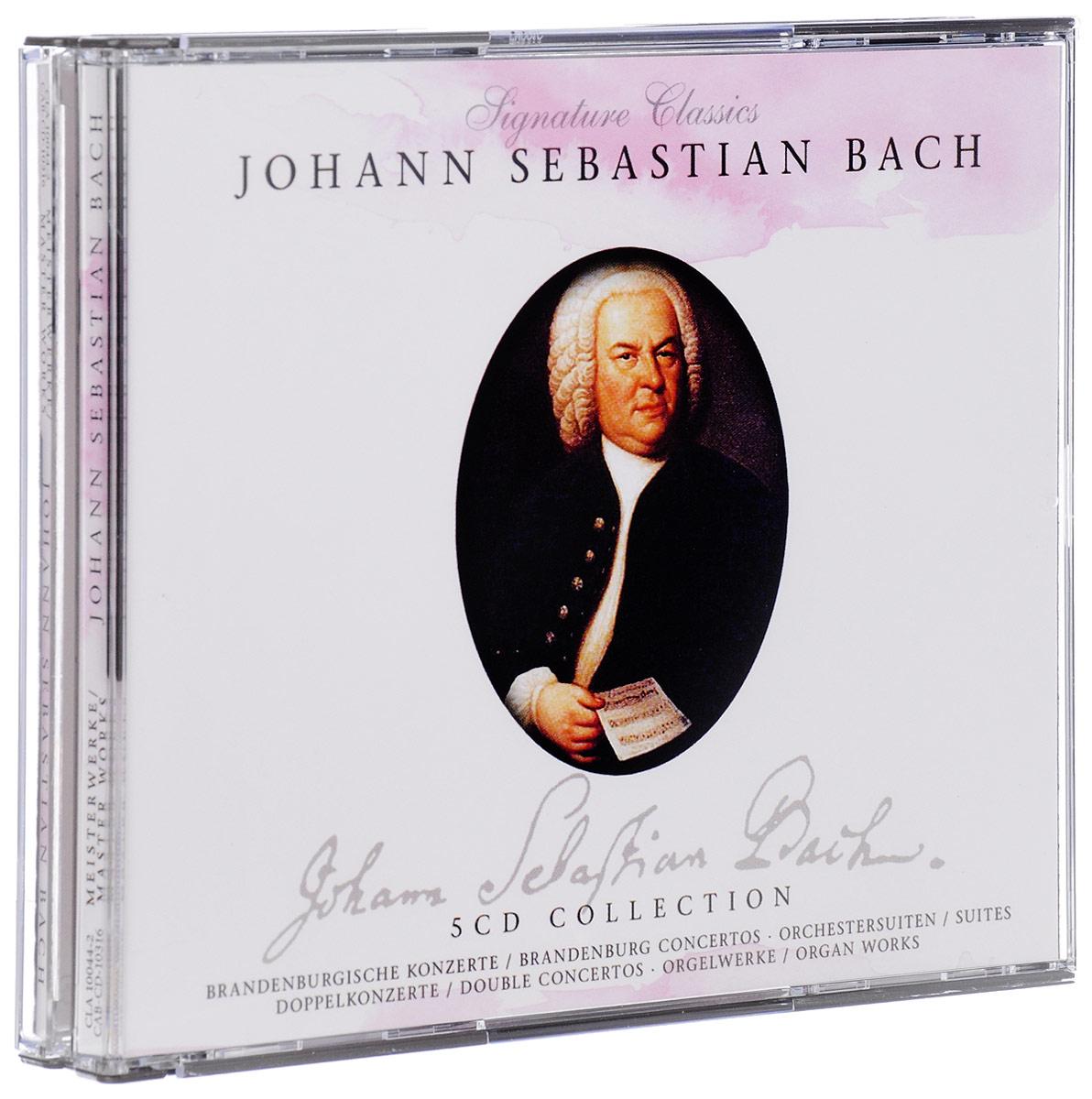цена на Johann Sebastian Bach. Meisterwerke / Master Works (5 CD)