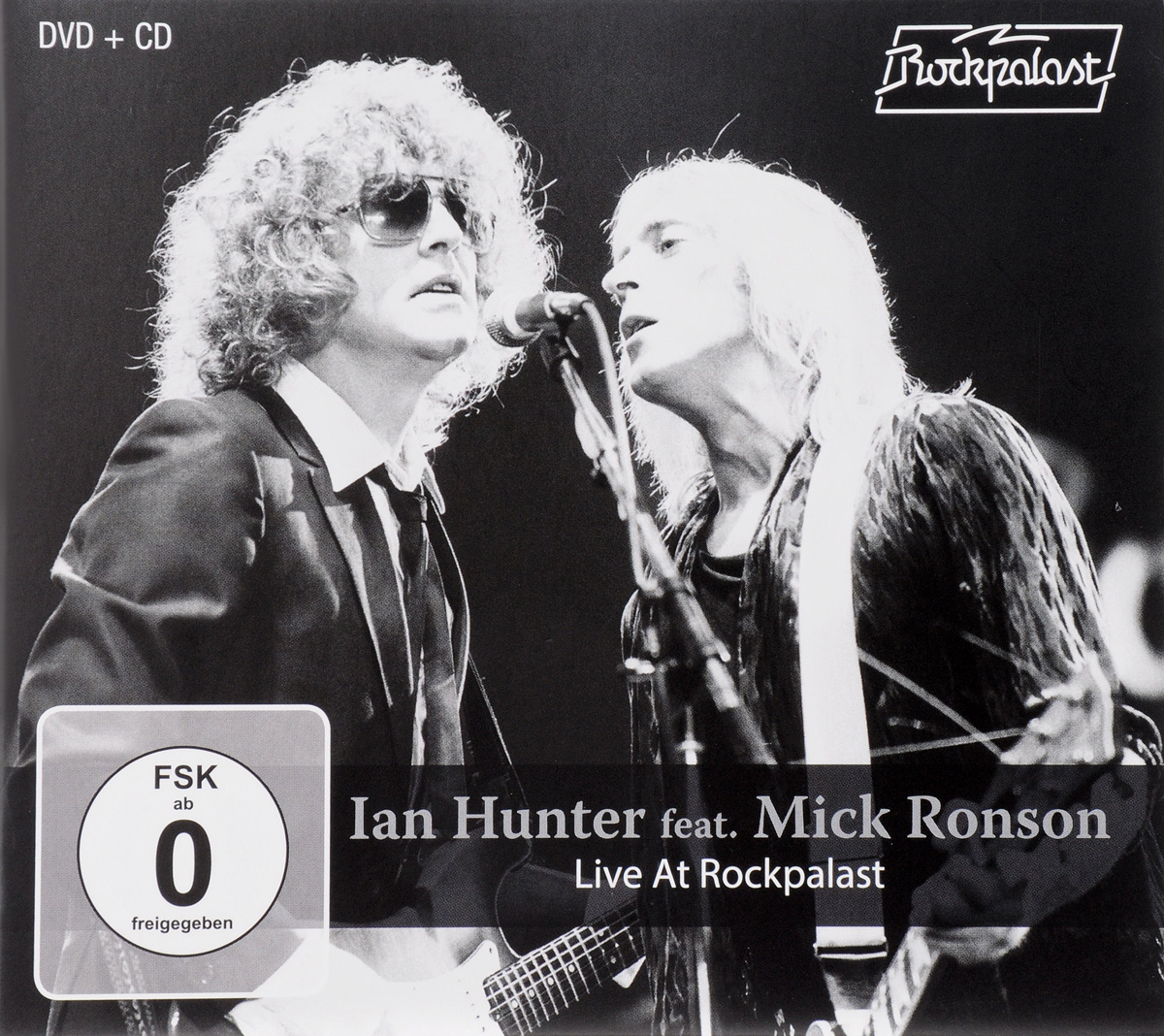 Ian Hunter Feat. Mick Ronson: Live At Rockpalast (DVD + CD) цена