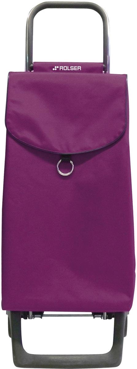 сумка тележка rolser joy jet027 синий 40 л Сумка-тележка Rolser Joy, цвет: бордовый, 43 л. PEP001
