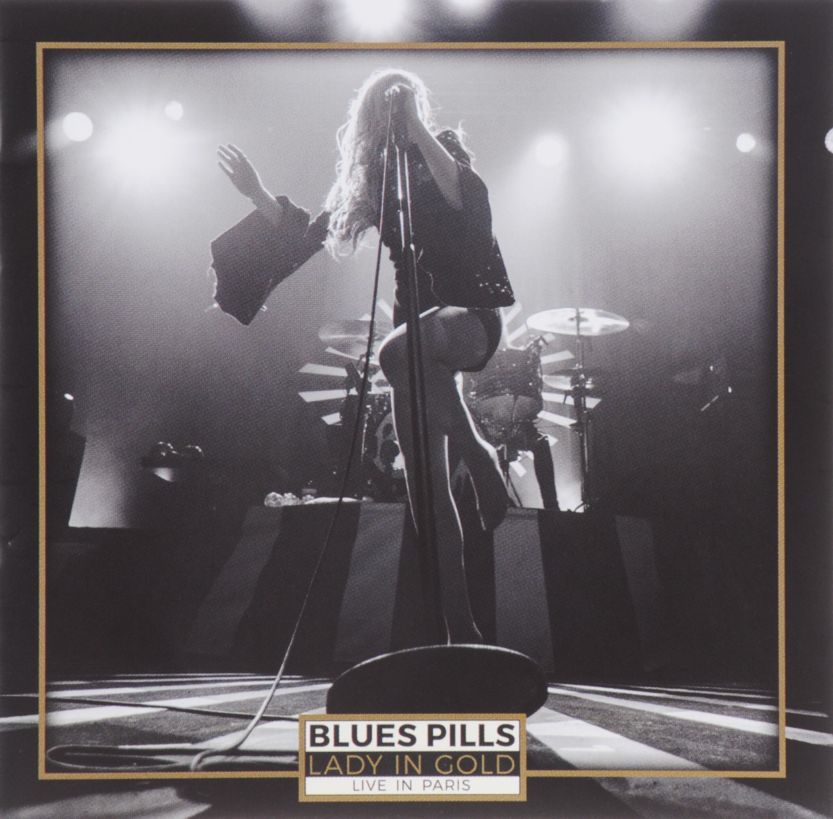 """""""Blues Pills"""" Blues Pills. Lady In Gold - Live in Paris (2 CD)"""