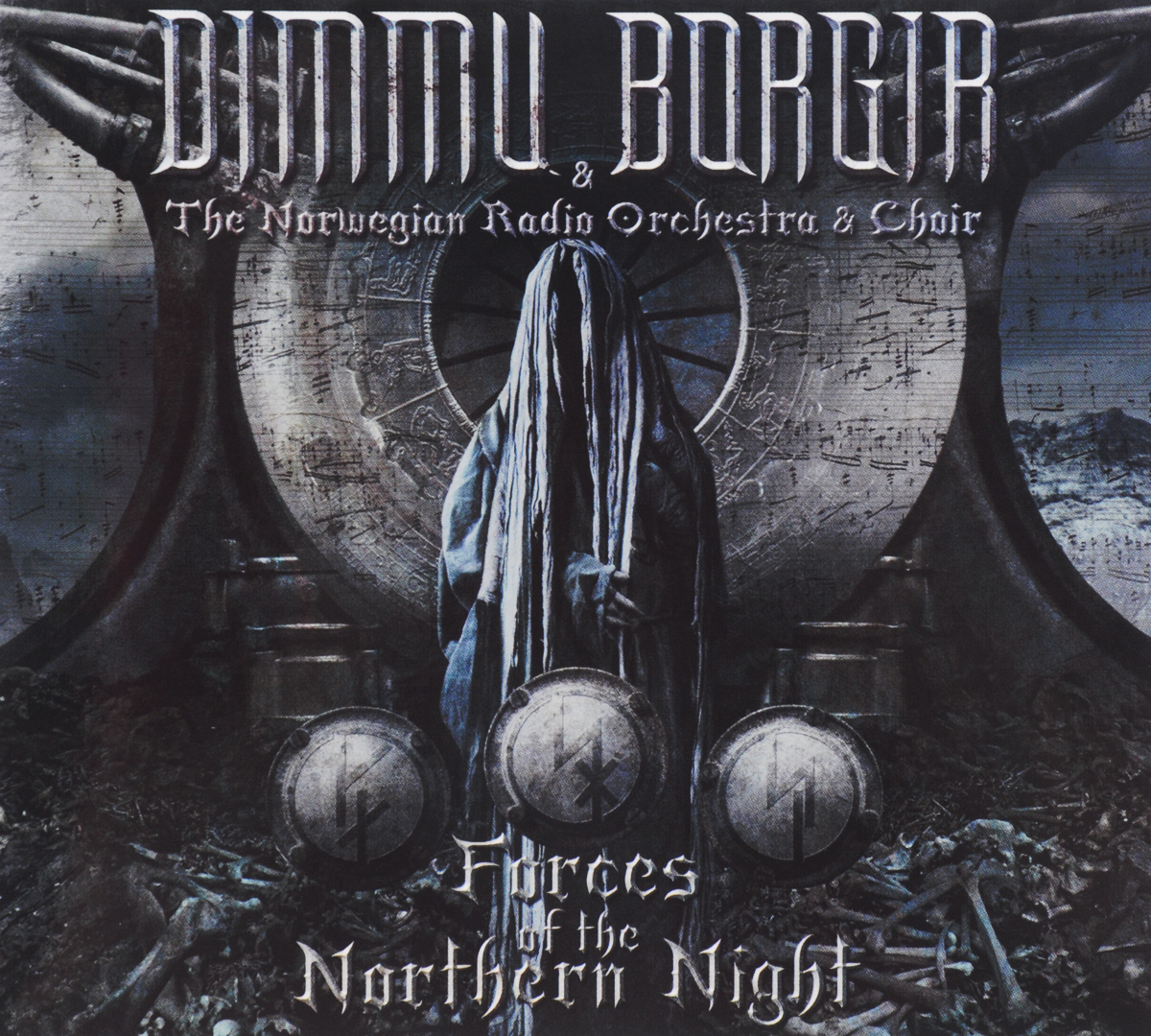 Dimmu Borgir & The Norwegian Radio Orchestra & Choir. Forces Of The Northern Night (2 CD) цена и фото