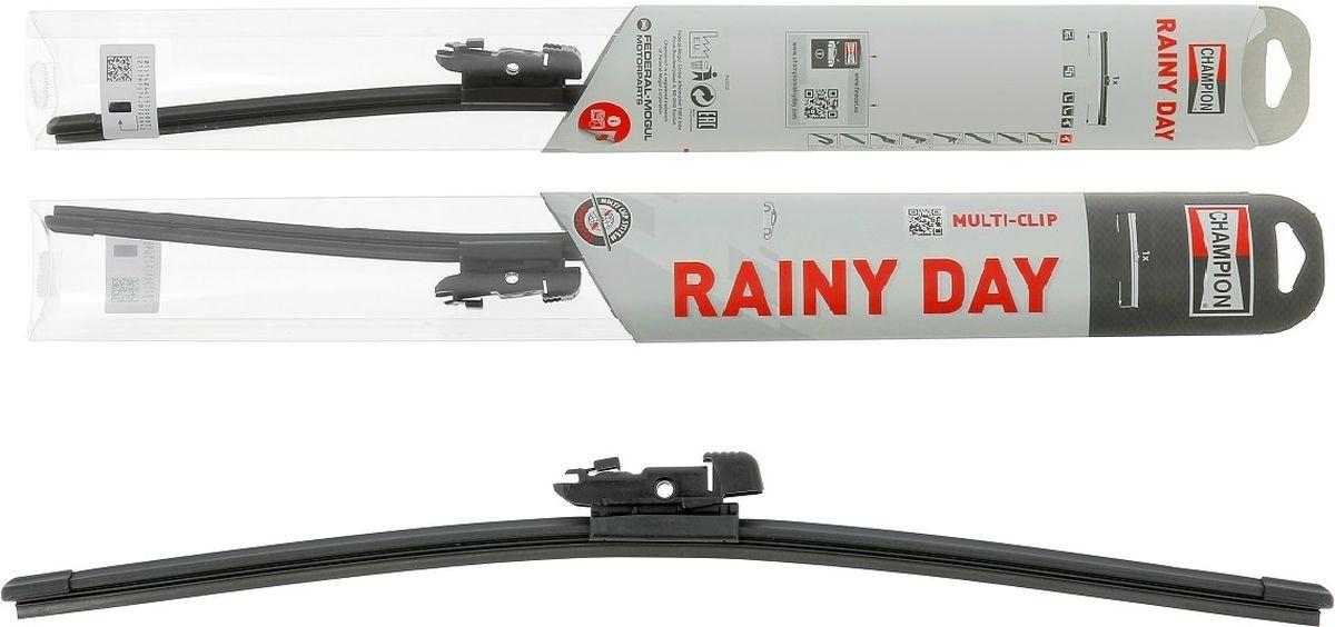 Фото - Щетка стеклоочистителя Champion Rainy Day, бескаркасная, длина 45 см, 1 шт rainy