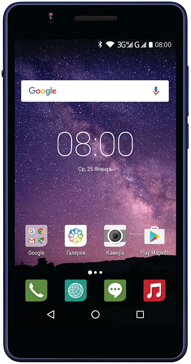 Смартфон Philips 2048/16GB, темно-синий. Уцененный товар