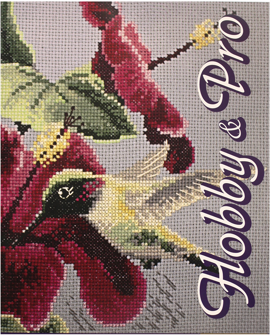 Набор для вышивания крестом Hobby&Pro Колибри, 25 х 20 см набор для вышивания крестом hobby