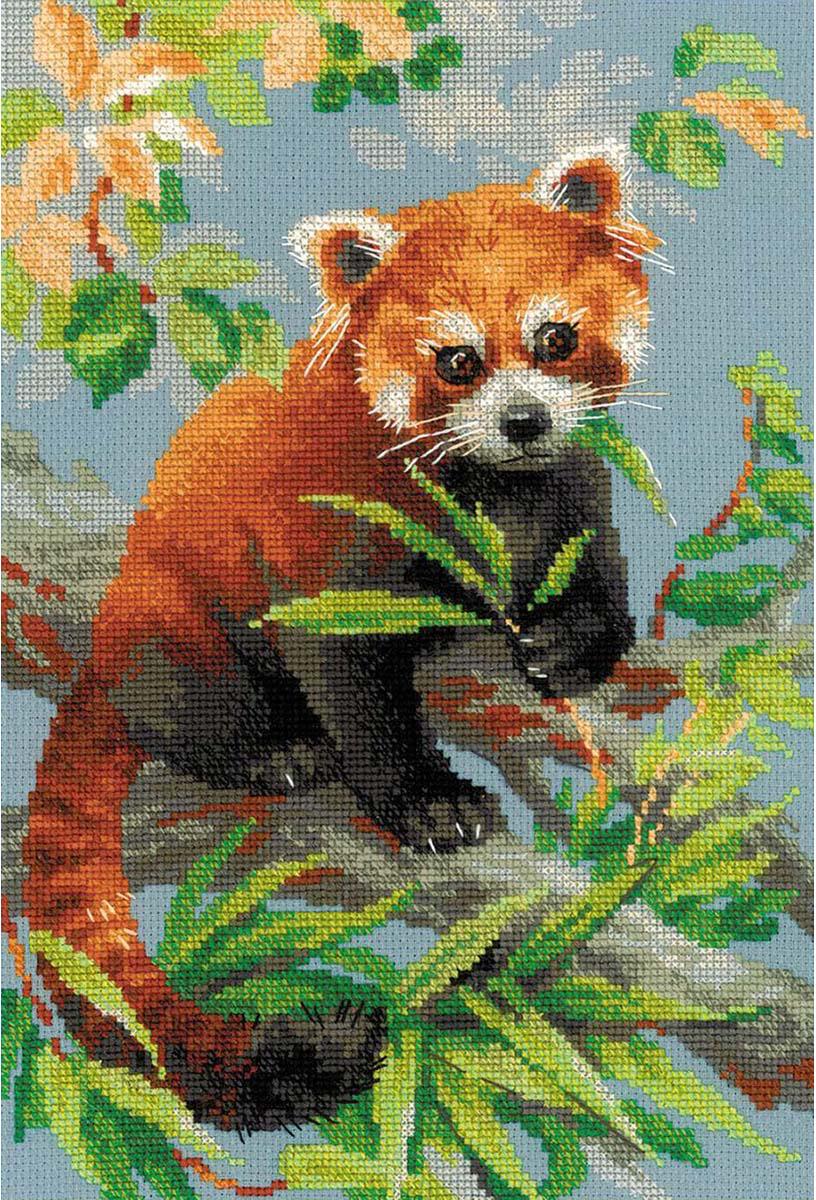 """Набор для вышивания крестом Риолис """"Подушка. Красная панда"""", 30 х 21 см"""