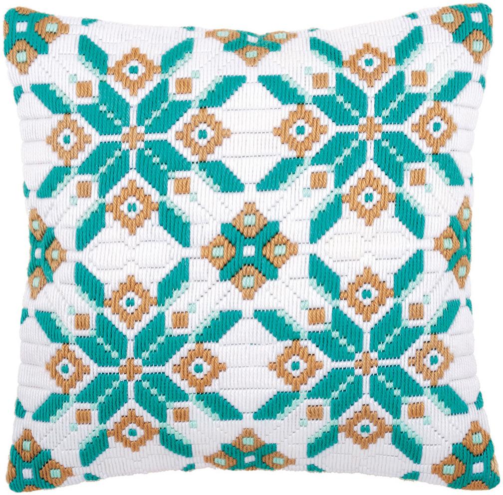 Набор для вышивания подушки Vervaco Ледяная звезда, 40 х 40 см набор для вышивания подушки vervaco белая лилия 40 см х 40 см