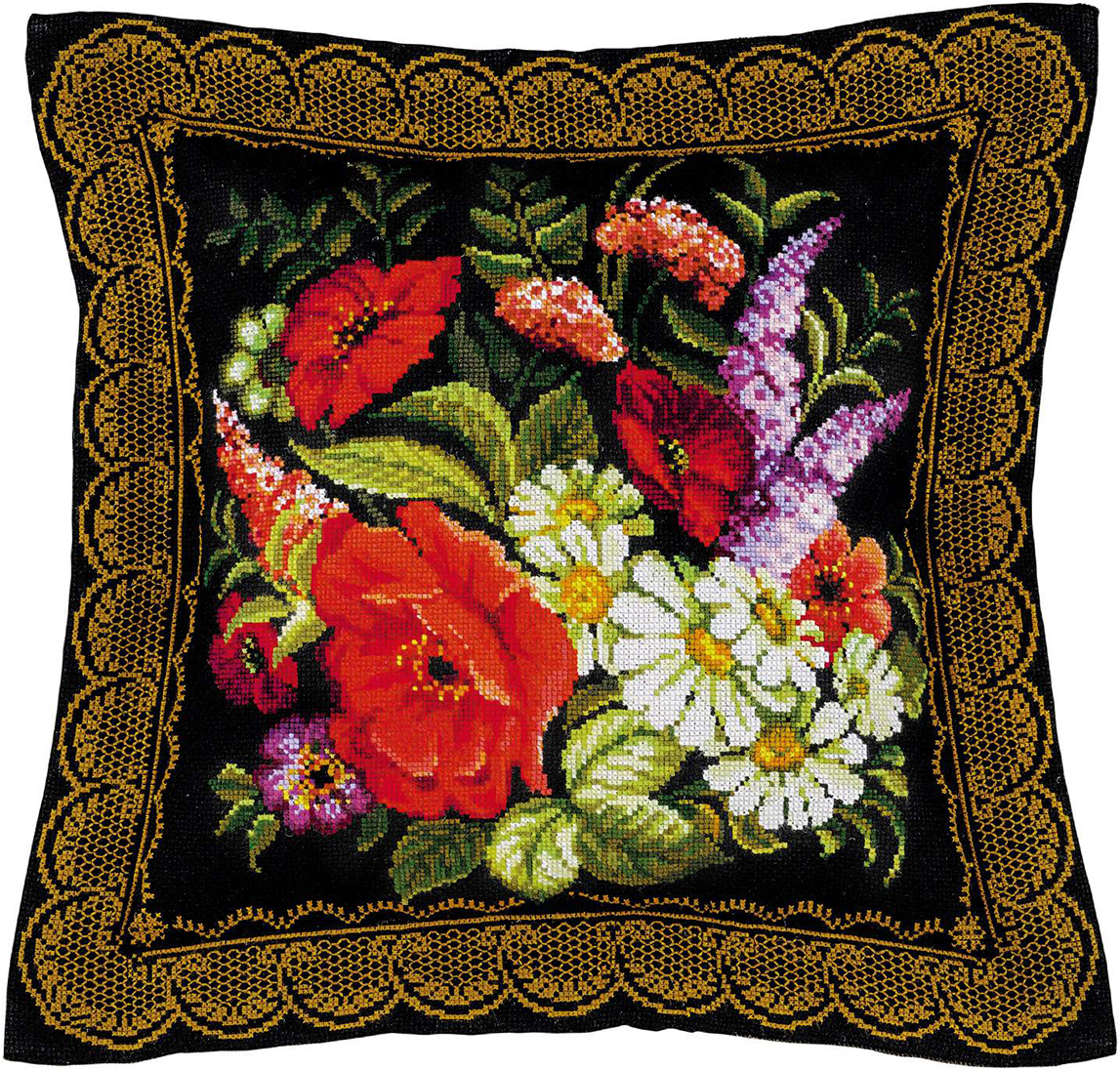 Вышивки крестом подушки картинки
