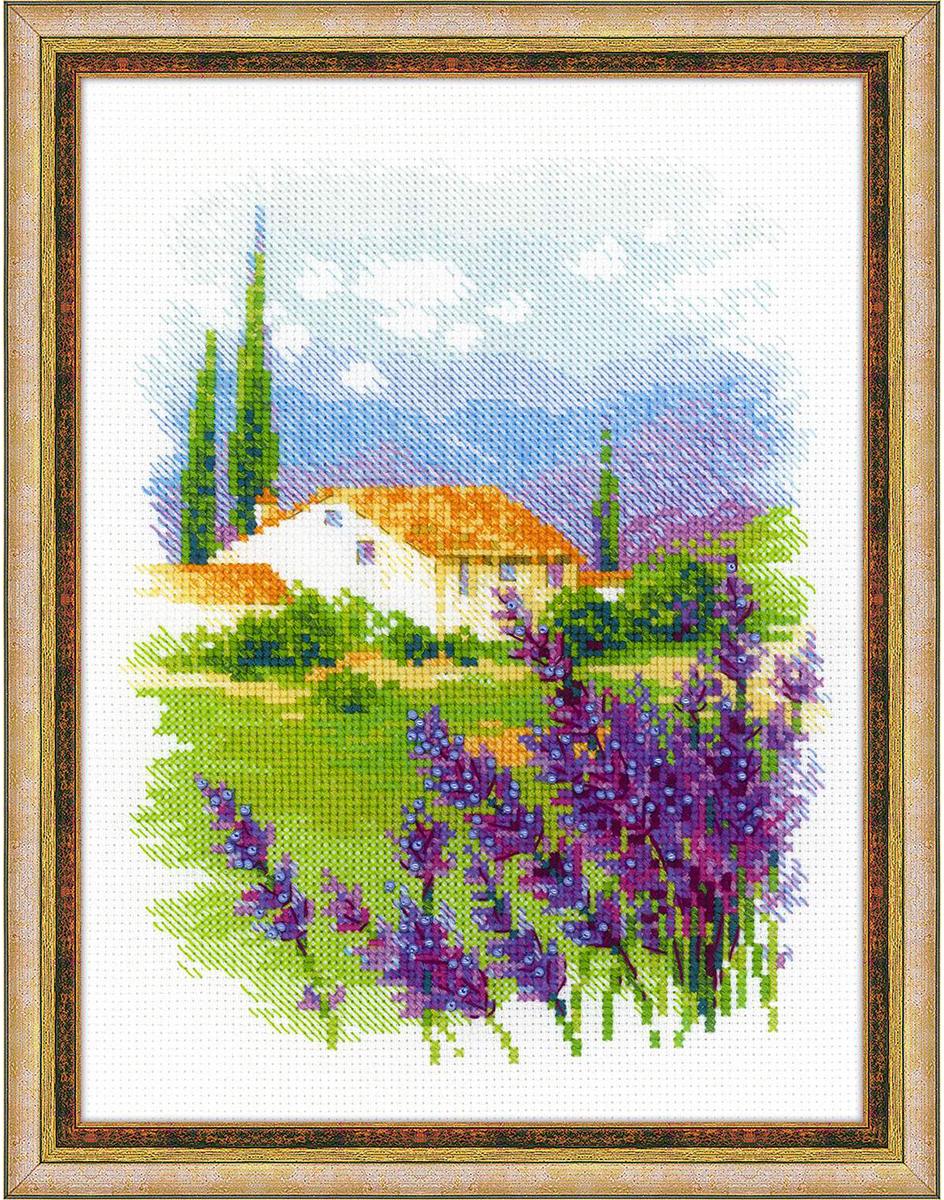"""Набор для вышивания крестом Риолис """"Ферма в Провансе"""", 24 х 18 см"""
