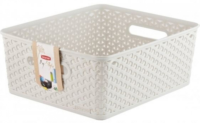 Коробка для хранения Curver My Style, цвет: кремовый, M, 13 л пуловер quelle my style 1010266