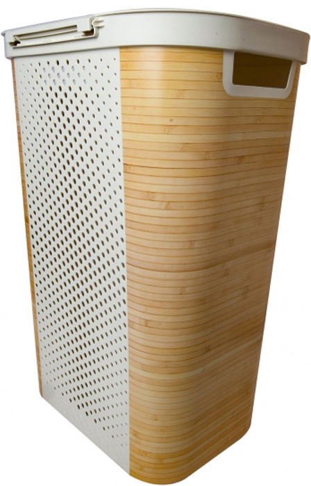 Корзина для белья Curver Bamboo, 60 л корзина для белья curver infinity feathers 60 л